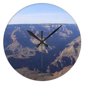 青空の時計が付いているグランドキャニオン ラージ壁時計