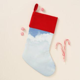 青空の柔らかい雲 クリスマスストッキング