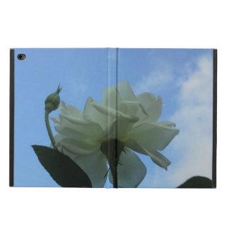 青空の白いバラ POWIS iPad AIR 2 ケース