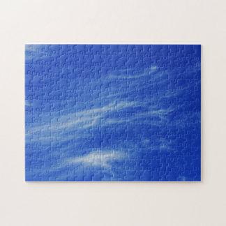 青空の背景 ジグソーパズル