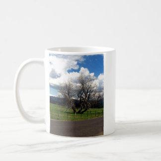 青空の自然のマグ コーヒーマグカップ