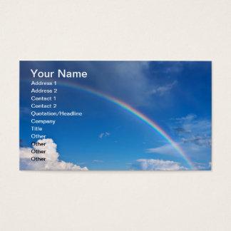 青空の虹 名刺