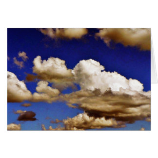 青空の雲 カード
