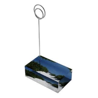 青空の~の白い砂の帯出登録者 テーブルカードホルダー
