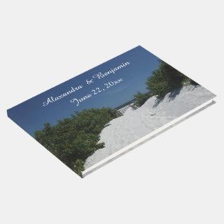 青空の~の白い砂の来客名簿 ゲストブック