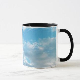 青空テーマの11のozの信号器のマグ マグカップ