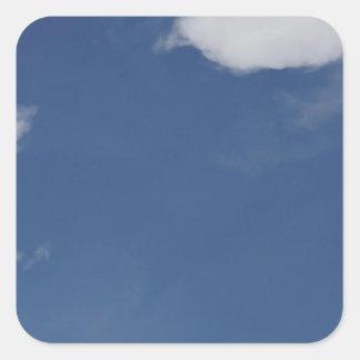 青空及び雲田園クイーンズランドオーストラリア スクエアシール