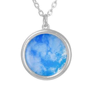青空 シルバープレートネックレス