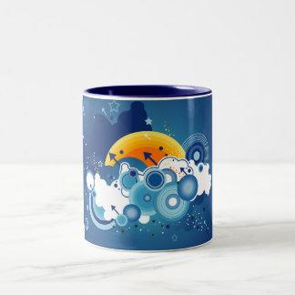 青空 ツートーンマグカップ