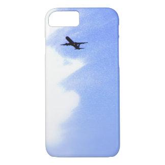 青空l飛行中の飛行機での上 iPhone 8/7ケース