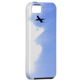 青空l飛行中の飛行機での上 iPhone SE/5/5s ケース
