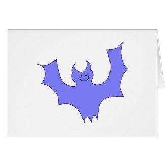 青紫色のこうもりの漫画 カード