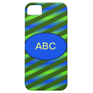 青緑のネオン iPhone SE/5/5s ケース