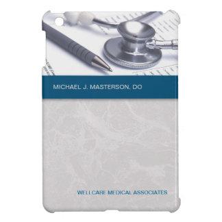 青緑の大理石の灰色の医学のiPad Miniケース iPad Mini カバー
