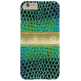 青緑の宝石のカッコいいのデザインのiPhone6ケース スキニー iPhone 6 Plus ケース