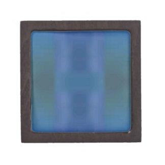 青緑の抽象芸術のフラクタルの情報通の粋なデザイン ギフトボックス