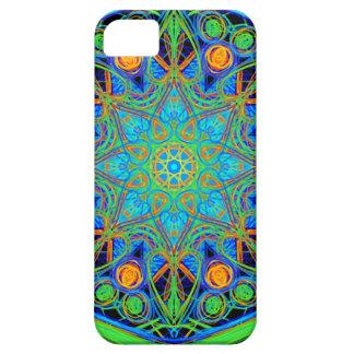 青緑の曼荼羅 iPhone SE/5/5s ケース