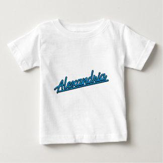 青緑色のアレキサンドリア ベビーTシャツ