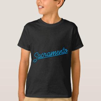青緑色のサクラメント Tシャツ
