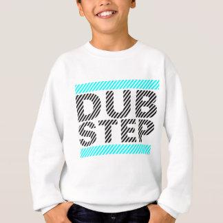 青緑色Dubstep スウェットシャツ