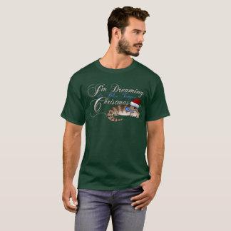 青舌のSkinkのクリスマス Tシャツ
