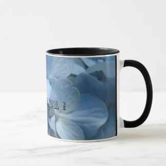青花420 [1]、私は花柄行きます! マグカップ