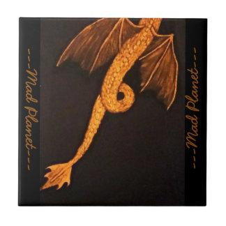 青銅色のドラゴンの体 タイル