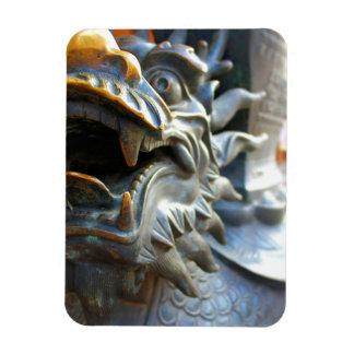 青銅色のドラゴンの彫像-上海の中国の磁石 マグネット