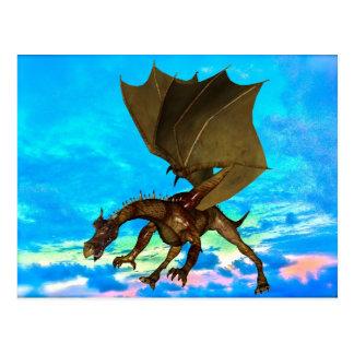 青銅色のドラゴン ポストカード