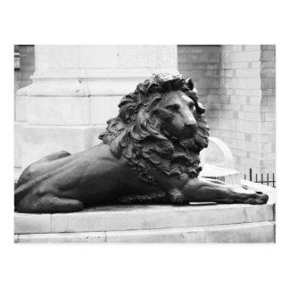 青銅色のライオン ポストカード