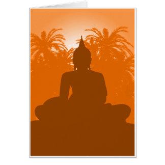 青銅色の仏 カード