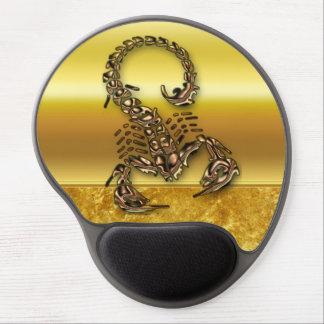青銅色の有害な蠍の非常に有毒の昆虫 ジェルマウスパッド