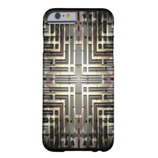 青銅色の格子iPhone 6/6Sのやっとそこに場合 Barely There iPhone 6 ケース