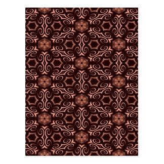 青銅色の目の錯覚 ポストカード
