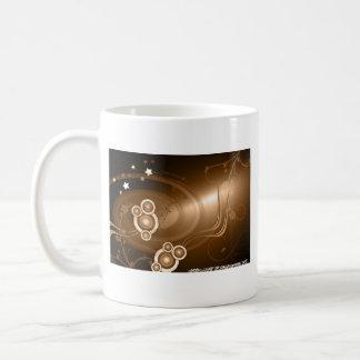 青銅色の音波 コーヒーマグカップ