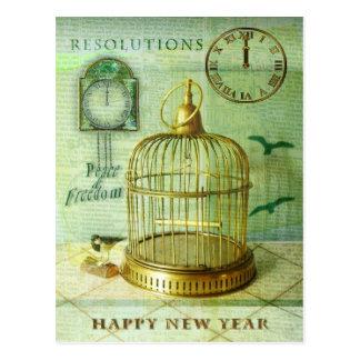 青銅色の鳥かご ポストカード