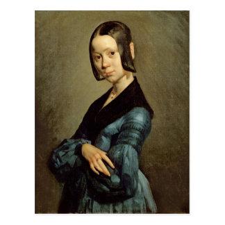 青1841-42年のポーリーンOno ポストカード