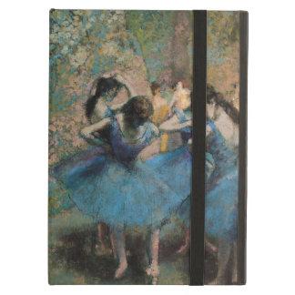 青1890年のエドガー・ドガ|のダンサー iPad AIRケース