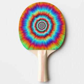 青   およびオレンジの卓球ラケットの爆発 卓球ラケット