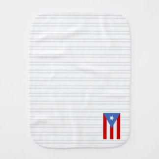 青: プエルトリコの旗 バープクロス