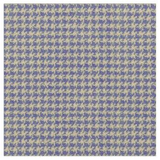 青、ロイヤルブルー、千鳥格子のな深海の青 ファブリック
