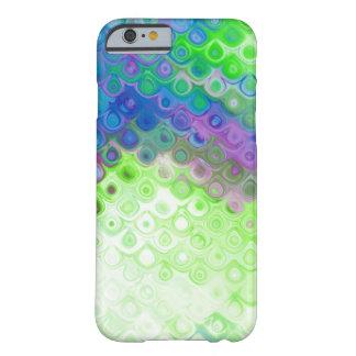 青、緑、紫色の破損の低下の金属の効果 BARELY THERE iPhone 6 ケース