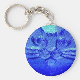 青CAT キーホルダー