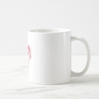 静かがあって下さい コーヒーマグカップ