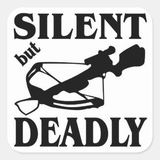 静かでしかし致命的な石弓の狩り スクエアシール