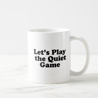 静かなゲームを遊ぼう コーヒーマグカップ