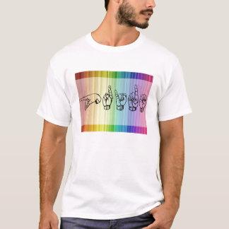 静かなプライド Tシャツ