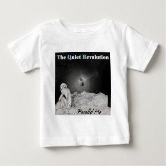 静かな回転平行私 ベビーTシャツ