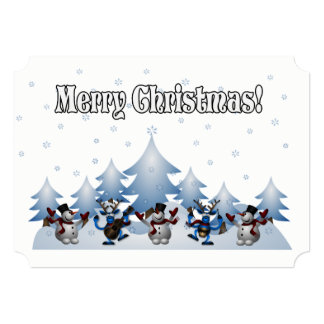 静かな夜か。 クリスマスのパーティの招待状 カード