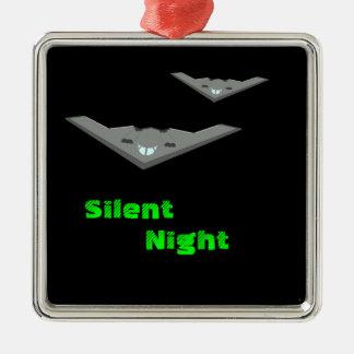 静かな夜を飛ばすカスタマイズ可能なB2隠しだての爆撃機 メタルオーナメント